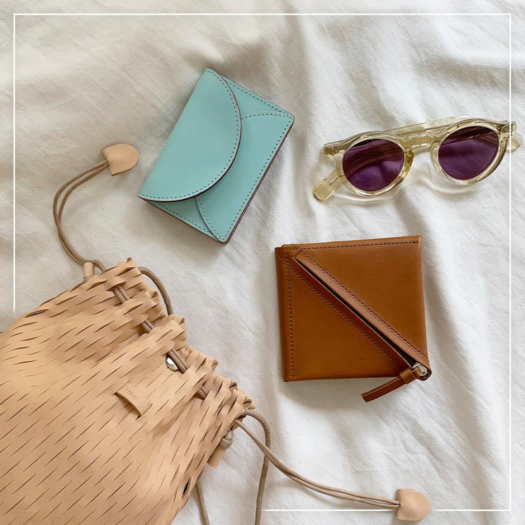 春の財布とバッグ2