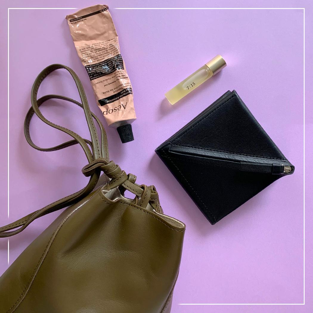 春の財布とバッグ1