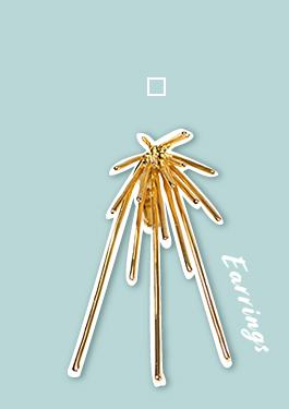 Lamie / K18GP ゴールド Down Spark Gold