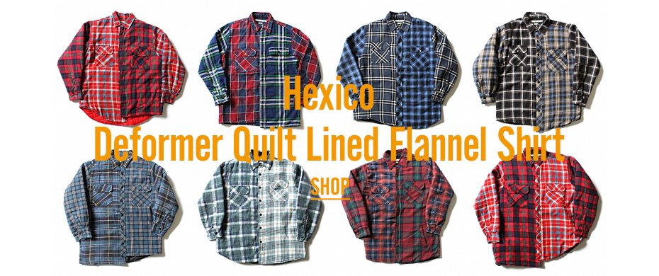 Hexico / Deformer Quilt Lined Flannel Shirt